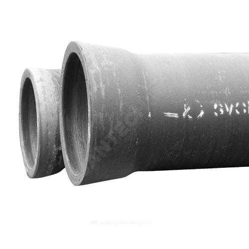 Труба чуг ВЧШГ Тайтон растр ЦПП лак 6м Свободный Сокол