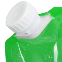 Складная канистра для воды 3 л (цвет зелёный)_3