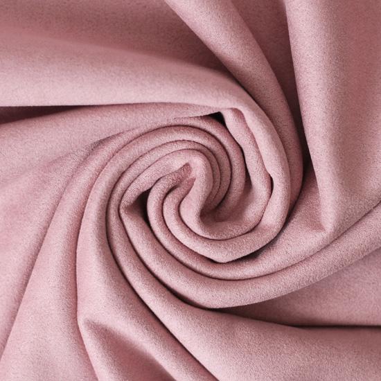 Замша искусственная пыльная роза 50*37 см