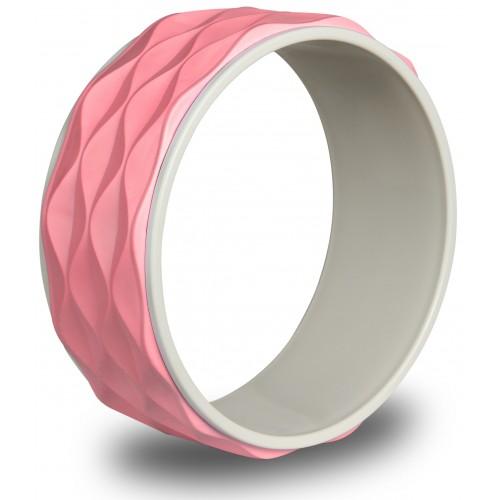 Колесо для йоги рифленое 17103 IRBL