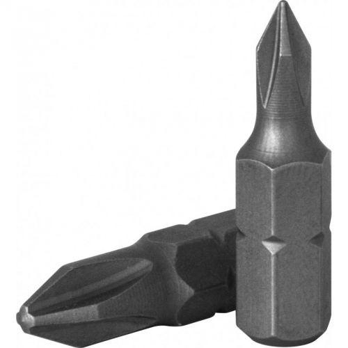 "D125P1A Бита 1/4"" крест PH#1, 25 мм, S2 материал"