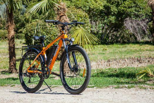 Велогибрид Eltreco XT 750 Оранжевый