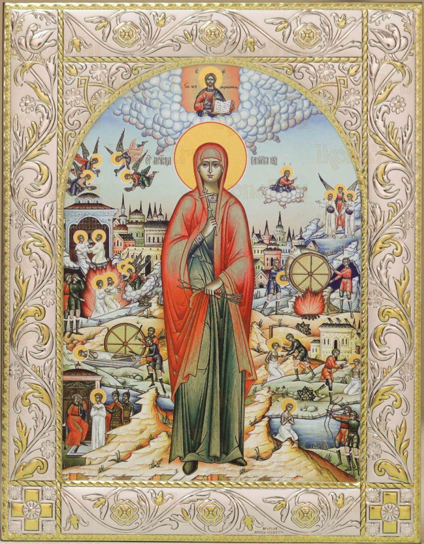 Икона Виктория Кордувийская мученица (14х18см)