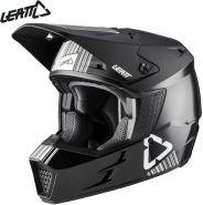 Шлем Leatt GPX 3.5 V20.1, Черно-белый