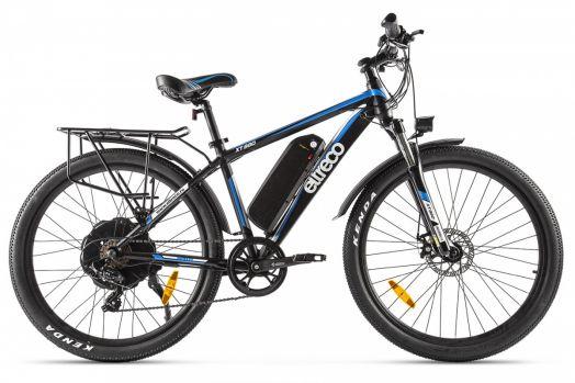 Велогибрид Eltreco XT880 Черный