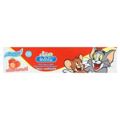Тайская зубная паста для детей Клубника Kodomo 80 гр