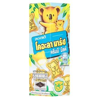 Сливочное печенье с начинкой Мишки Коалы Lotte Koala's 37 гр