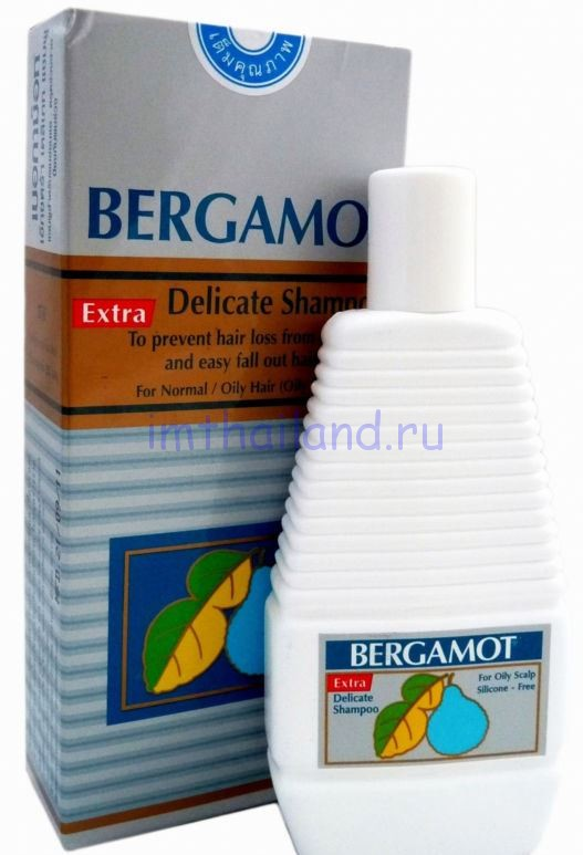 Шампунь Бергамот из Тайланда (Bergamot Extra) от выпадения волос