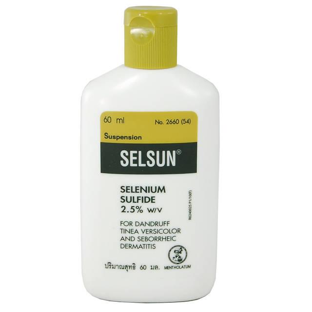 Шампунь от перхоти лечебный Selsun 30 мл
