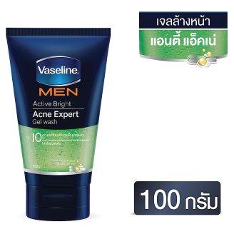 Гель для умывания мужской - для проблемной кожи Vaseline Men Active 100 гр