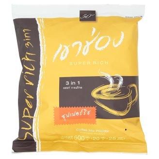 Тайский кофе растворимый Богатый вкус Khao Shong Super Rich 25 шт по 20 гр