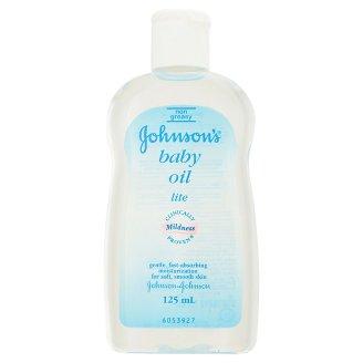 Детское масло легкое увлажняющее Johnson's Lite 125 мл