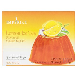 Десерт желе Лимонный чай Imperial Lemon Ice Tea 100 гр