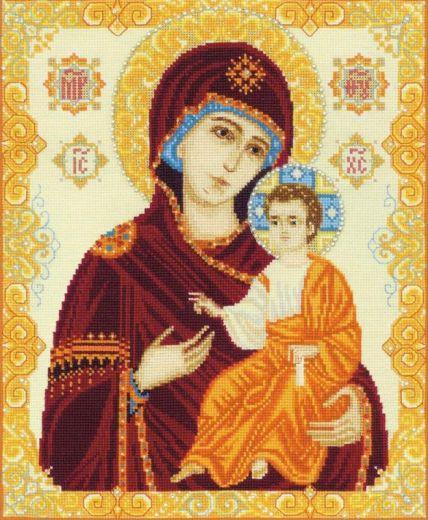 Набор для вышивания крестом Богоматерь Иверская №1575 фирма Риолис