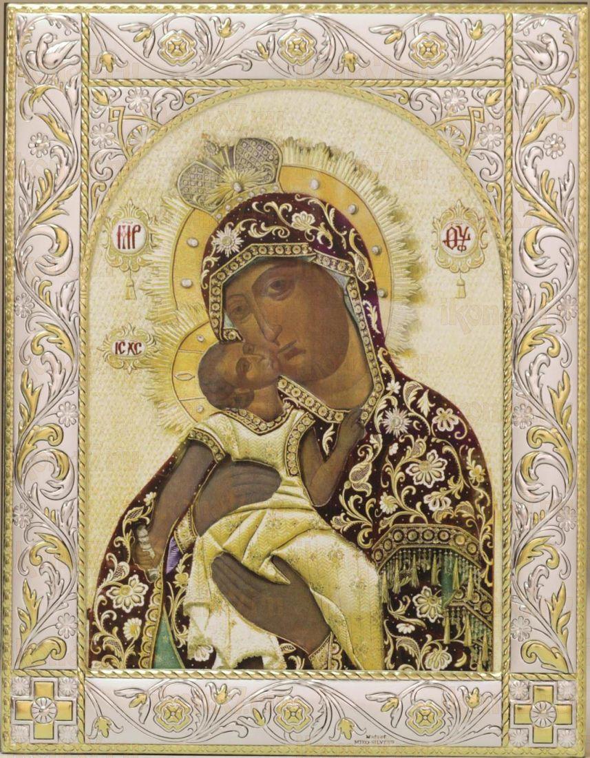 Взыграние Младенца икона Божией Матери (14х18см)