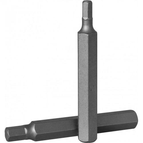 D175H120 Бита 10 мм, шестигранная 12 мм, 75 мм, S2 материал