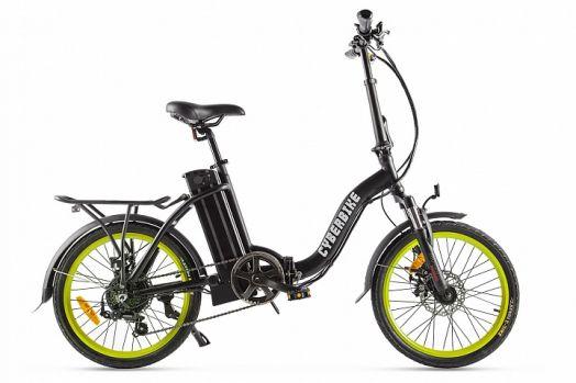 Велогибрид Cyberbike FLEX Черный с желтым