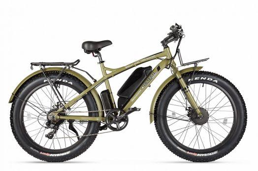 Велогибрид VOLTECO BIGCAT DUAL NEW Хаки