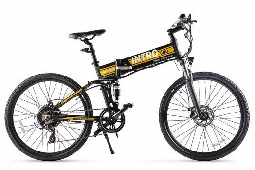 Велогибрид VOLTECO INTRO Черный