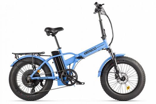 Велогибрид Eltreco MULTIWATT NEW Синий карбон