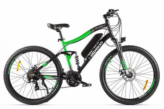 Велогибрид Eltreco FS900 new Черно зеленый