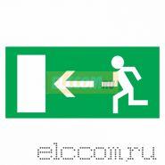 """Эвакуационный знак """"Направление к эвакуационному выходу налево""""150*300 мм Rexant"""