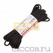 Шнур с сердечником 5мм 20м (черный)