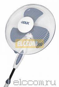 Вентилятор напольный электрический DX-17; 40 Вт, (бело-серый)