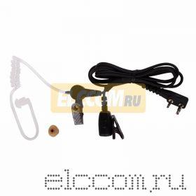 Гарнитура с прозрачным звуководом Р-1402, разъем тип Кенвуд
