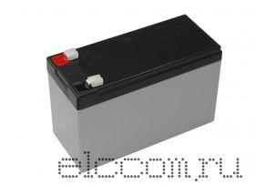 Аккумулятор 12В 7 А/ч