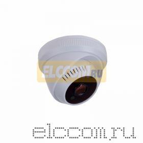 Купольная камера AHD 1. 0Мп (720P), объектив 2. 8 мм. , встроенный микрофон, ИК до 20 м.