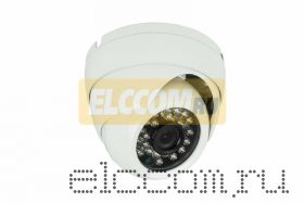 Купольная уличная камера AHD 1. 0Мп (720P), объектив 3. 6 мм. , ИК до 20 м.