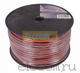 Кабель акустический 2х2.5 мм2 100м (красно-черный) PROCONNECT