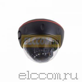 Купольная камера AHD 4. 0Мп, объектив 2. 8-12 мм. , ИК до 30 м. (Корпус черный)