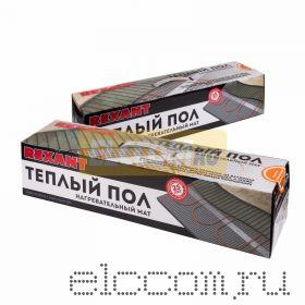 Теплый пол (нагревательный МАТ) REXANT Extra, площадь10, 0 м2 (0, 5 х 20, 0 метров), 1600Вт, (двух жильный)