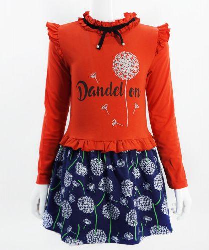 """Платье для девочек Bonito """"Одуванчик"""" красное"""