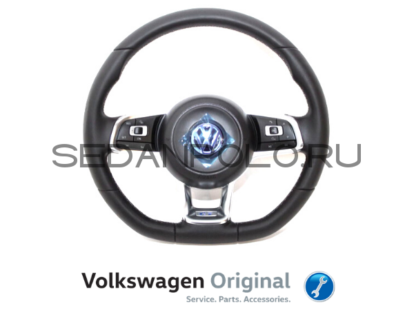 Руль в сборе Volkswagen Polo Sedan GT/DRIVE/CONNECT VAG
