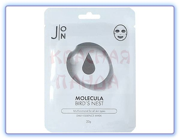 Маска для лица с ласточкиным гнездом J:ON Molecula Bird's Nest Daily Essence Mask