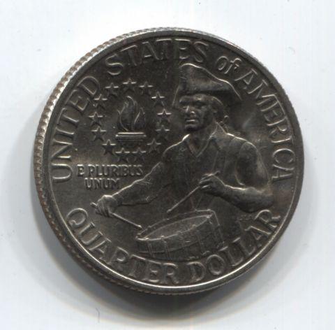 1/4 доллара 1976 года США AUNC, 200 лет независимости США