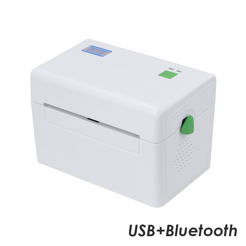 Принтер этикеток  Xprinter XP-DT108B (USB+Bluetooth) белый