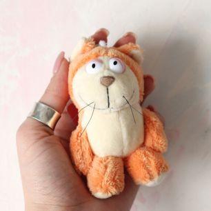 Котик рыжий для куклы Nici, 10 см