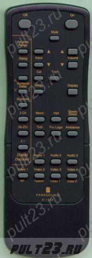 PARASOUND R-1500, P/DD-1500, P/DD-1550