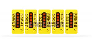 Термоиндикаторные наклейки TQC