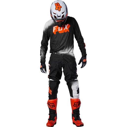 Fox 180 BNKZ Special Edition Youth Black подростковые джерси и штаны для мотокросса, черные