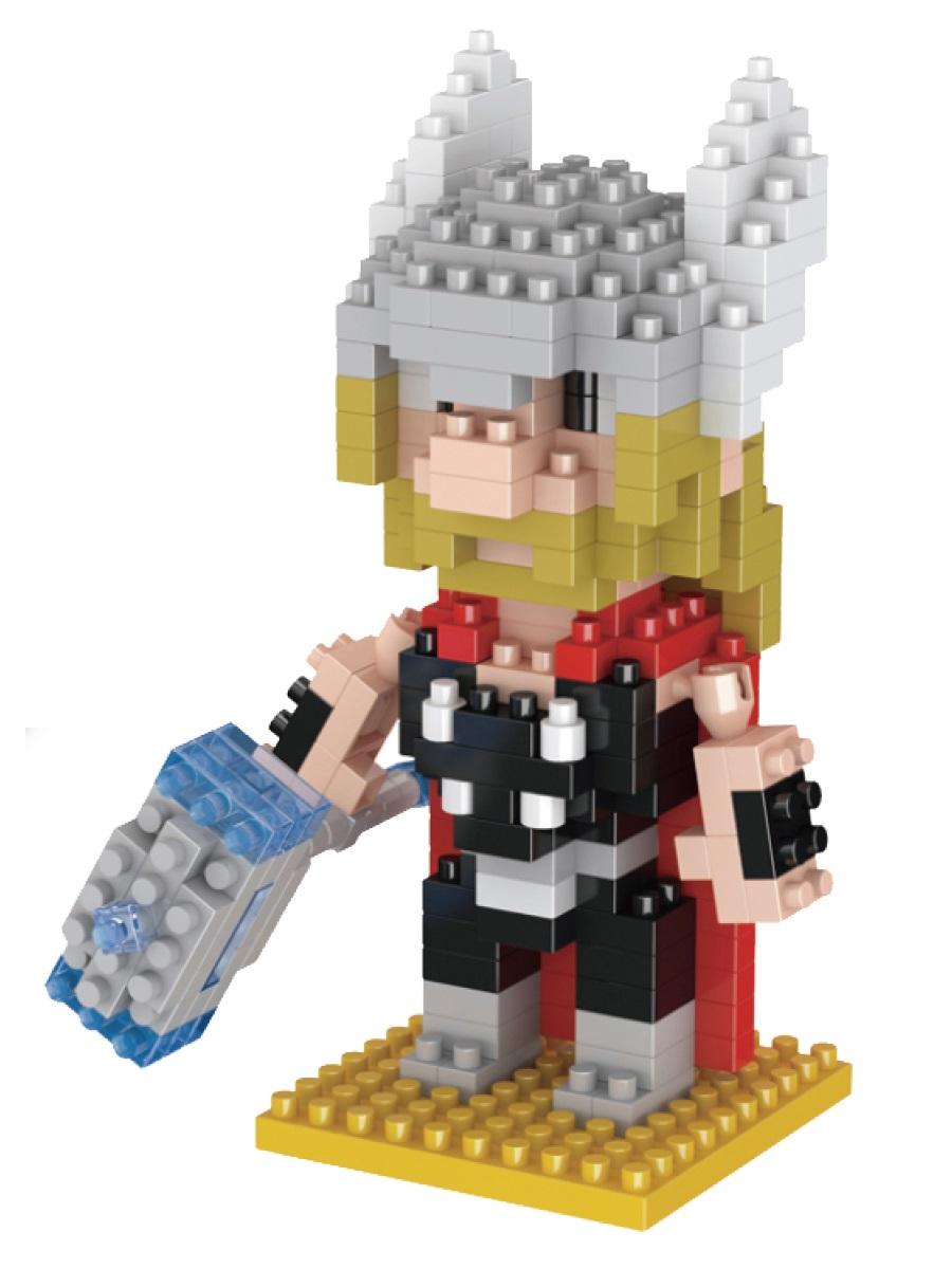 Конструктор Wisehawk & LNO Тор 280 деталей NO. 020 Thor Gift Series