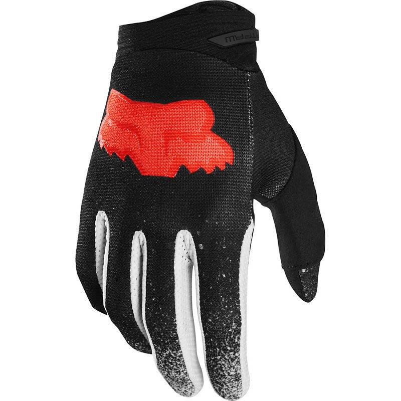 Fox Dirtpaw BNKZ Special Edition Black перчатки для мотокросса, черные