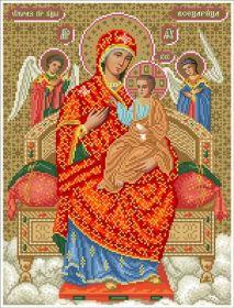 ПБВ БС Солес. Пресвятая Богородица Всецарица. А3 (набор 2250 рублей)