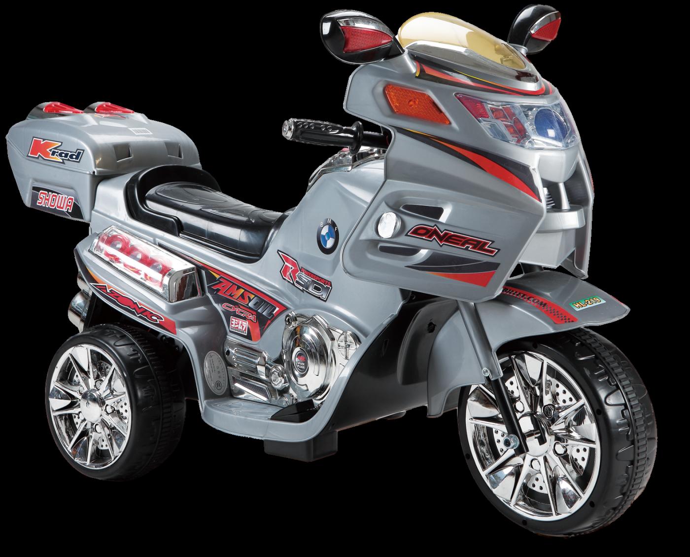 Детский электромобиль (2020) HL219 (6V) Серый