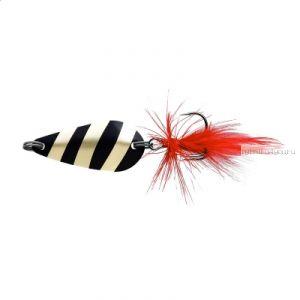 Блесна колеблющаяся Sprut Nabuki Micro Spoon 30мм / 3,7 гр / цвет: GBK