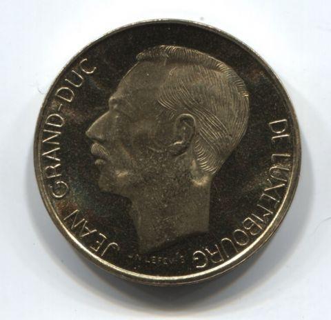 5 франков 1992 года Люксембург BU